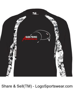Adult Digital Hook Long Sleeve Tee Design Zoom